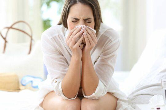 Huisstofmijt allergie klachten in een hotel