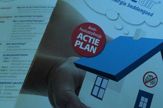 CaraCair anti huisstofmijt stappenplan
