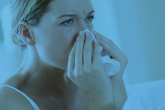 loopneus in bed