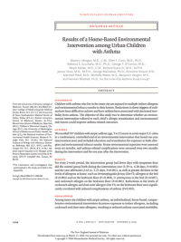 Home-based environmental intervention page 1